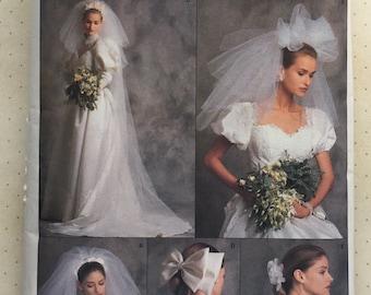 1989 Vogue Veil & Bow Pattern No. 2197