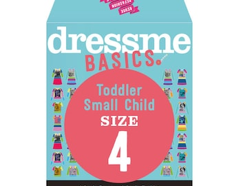 Dressme Basics - Pattern SIZE 4 - 1 Dress and 1 T-shirt - 1000s of possibilities