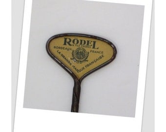 SALE Extremely RARE Antique RODEL Sardine Can Opener > 1800's unusual Rare Unique Hard to Find > French - Primitive Kitchen - Food Prop