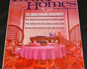 Better Homes and Gardens Magazine January 1967