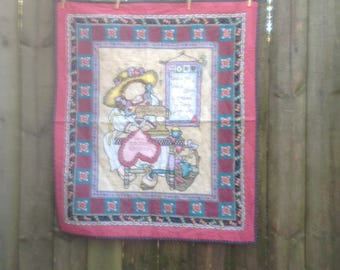 Forever Friends Lap Quilt or Wall Hanging FREE SHIPPING