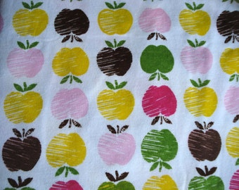 Apple Print Cotton Knit Last Yard
