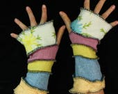 Arm Warmers - LARGE - made from upcycled sweaters