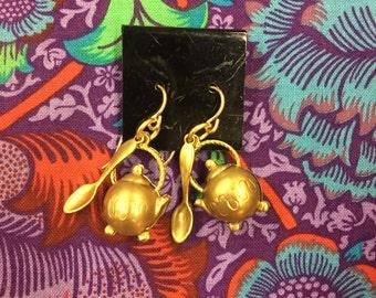 I'm A Little Teapot Earrings