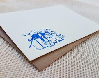 Letterpress Enclosure Card - Presents