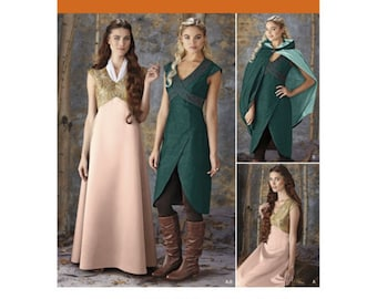 Simplicity 1008 Fantasy Costume Sewing Pattern for Size HH Misses 6-14