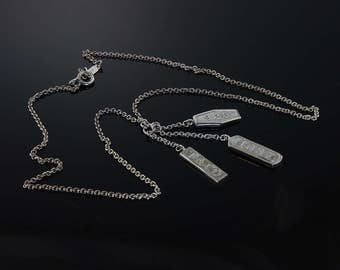 Vintage! Tiffany & Co Sterling Silver Elements Necklace