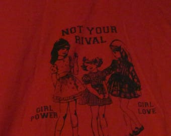 Not Your Rival LARGE T-SHIRT