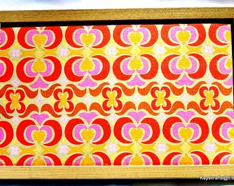 Garden Maze Orange Yellow Cork Board 17x11 Corkboard Khaki Framed Tack Board Cork Bulletin Board Cork Pin Board Cork Message Board