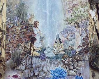 Thunder Gods - Magical / Fantasy Art Print