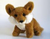 Vintage Fox Stuffed Animal by GUND 1990s Toy Plush Fox Sly Fox Child Toy Kids Toy Woodland Animal Forest Animal