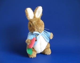 Vintage Peter Rabbit Stuffed Animal Toy by Eden Beatrix Potter 1980s Toys Kids Toys Bunny Rabbit Plush