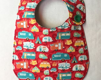 Happy Campers Infant Bib