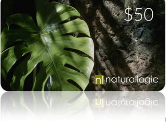 E-Gift Card. Electronic Gift Certificate. Natural Organic Skin Care.