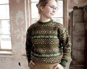 1940s Boys Wool Sweater