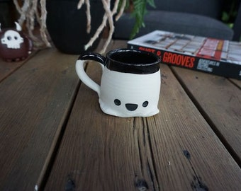 Porcelain Happy Ghost Mug