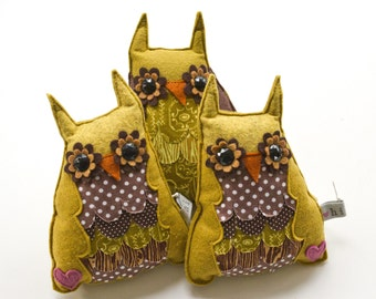 Owl Plush Toy - Small