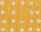 heather ross far far away 2- orange moons- half yard