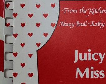 BIG SALE - Vintage Cook Book - Juicy Miss Lucy Cookbook - 4 Star