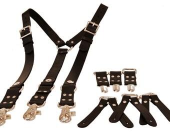 Deluxe Heavyweight Suspenders with versatile ends