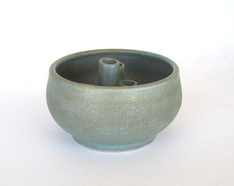 Ikebana Vase - Mesa Verde Glaze