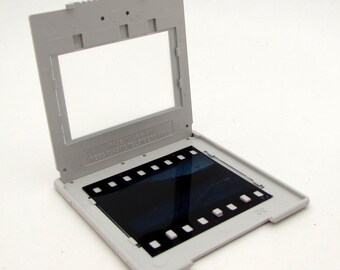 15 glass slides - 35mm photo slides - Yearbook Newspaper Commercial - plastic frames - 35mm slides