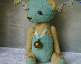 OOAK Handmade 7.5 inch Viscose Artist Teddy Panda ShiShi
