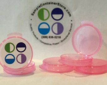 180 - 1/20 Ounce Lacons Sample Containers w/ Custom Printed Laser Labels Free Shipping