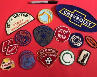 Random vintage patches