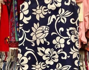 NWT 1960s Girls Tiki Dress 8/10