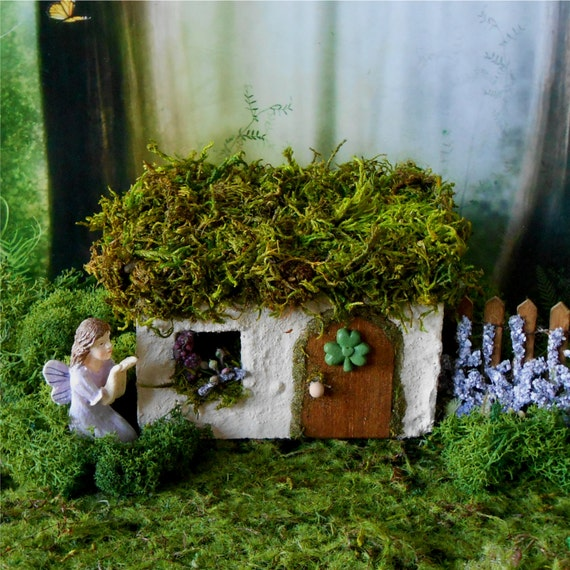 Irish Cottage Fairy House Fairy Garden Miniature Garden