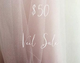 VEIL SALE Assorted Veils Ready to ship