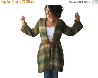 50% CLEARENCE Alpaca Hand Knitted Cardigan by AFRA