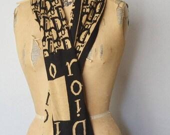 SALE Christian Dior scarf-Dior wool scarf