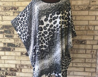 Plus Size Lightweight Rayon Tunic