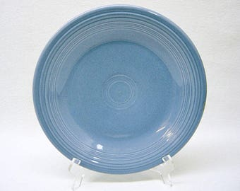 """FIESTAWARE 10 1/2"""" Dinner Plate-Discontinued Periwinkle Blue-Genuine Fiesta H L Co. U.S.A.-FIESTA WARE-Excellent Condition"""