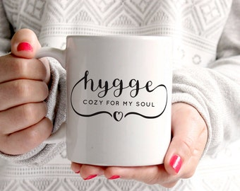 Hygge Mug - Hygge Coffee Mug - funny coffee mug - cozy - higgle life - nap time - sloth life