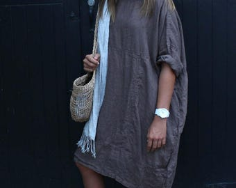 Summer Light Linen Dress