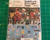 VTG Little Vogue 1844 SZ 3 Toddler Transfer Togs Romper Pattern Uncut
