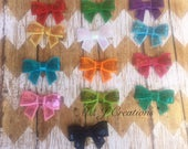 Custom Order for Tiffany T. - Bow Hairclips