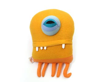 "Sea Creature Plush ""Frank"" Jelly Cotton Monster"