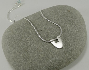 Minimal Sterling Necklace - N1311
