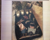 Primitive Punchneedle Pattern By Brenda Gervais - Petter & Peep Ditty Pocket