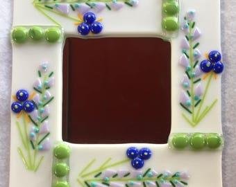 Fused Glass Decorative Mirror