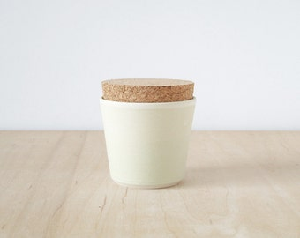 mini cork jar : SAMPLE SALE