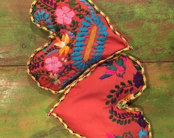 2 Spicy Hot Mexican Mamacita Cedar and Star Anise Heart Satchets