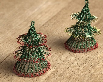 Christmas tree ornaments - Christmas tree decorations - Christmas decorations - Holiday decor - Christmas gift - Handmade  Ornaments