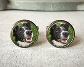 Personalized Cufflinks, Custom Pet Cufflinks, Dog Cuff links, Custom Cufflinks, Photo Cufflinks, Memory Keepsake, Gift For Him