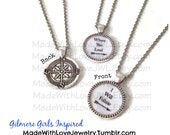 Pair of Gilmore Girls Inspired Best Friends Necklaces