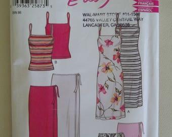 New Look Sewing Pattern 6178 ~ Skirt, Sundress, Tank Top Pattern ~ Size 8-18